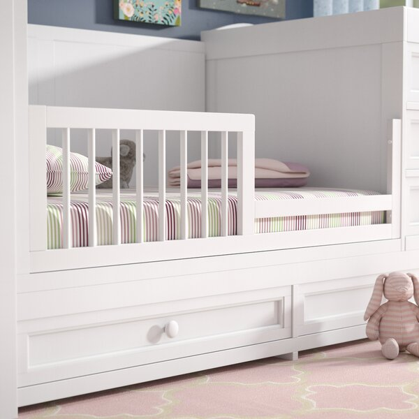 Elaina Dowel Toddler Bed Rail by Harriet Bee