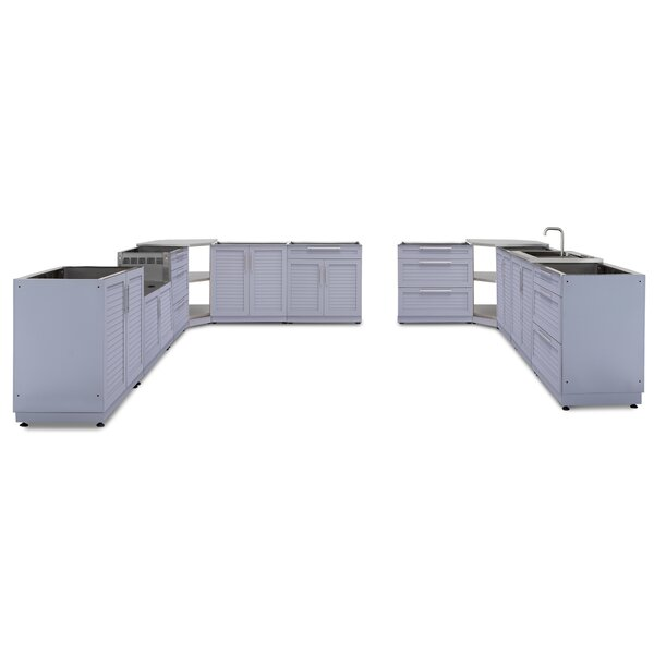 @ Kitchen 11 Piece Outdoor Bar Center Set by NewAge Products| #$7,949.99!