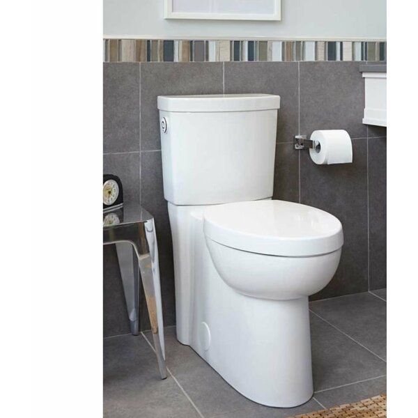 Studio Activate Right Height 1.28 GPF Round Two-Piece Toilet by American Standard
