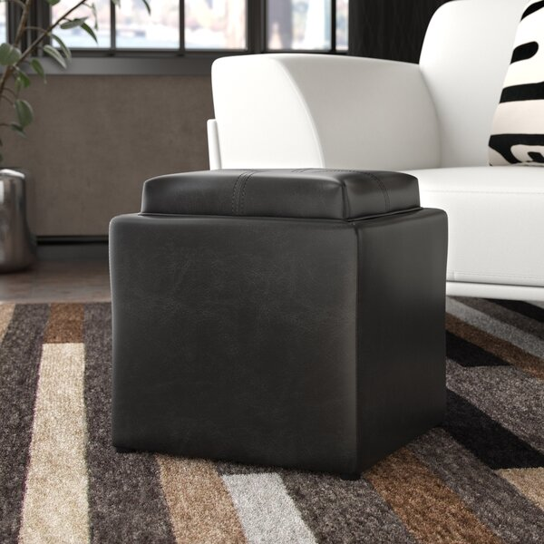 Bengal Storage Ottoman by Ebern Designs