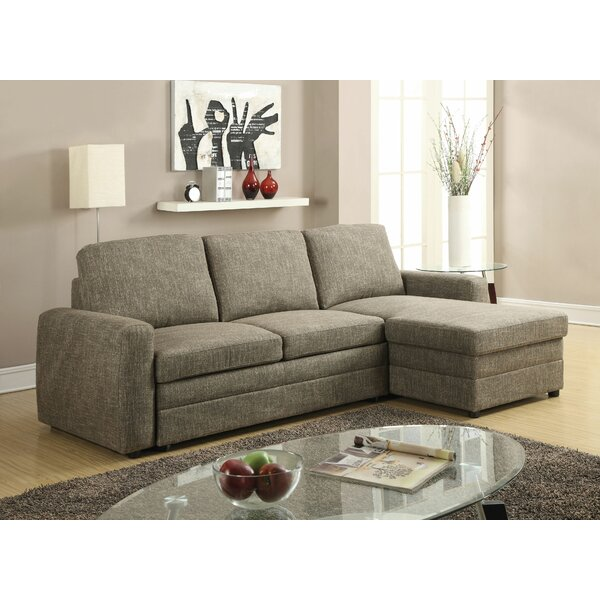 Vacchiano Reversible Sleeper Sectional by Latitude Run