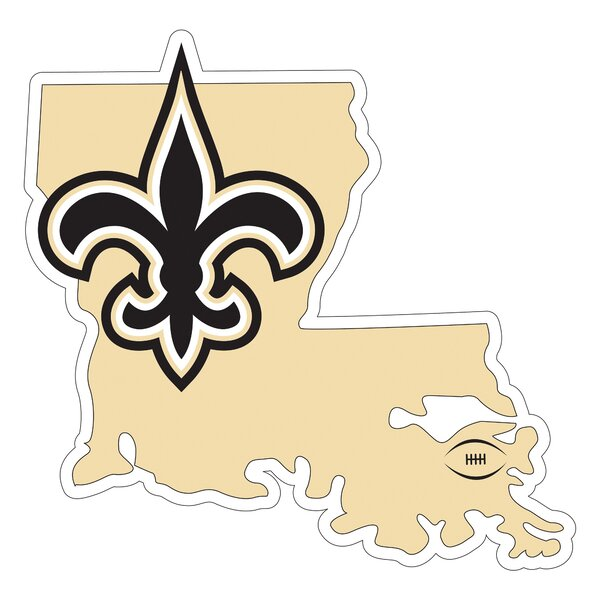 NFL New Orleans Saints Home State Magnet by Siskiyou Products