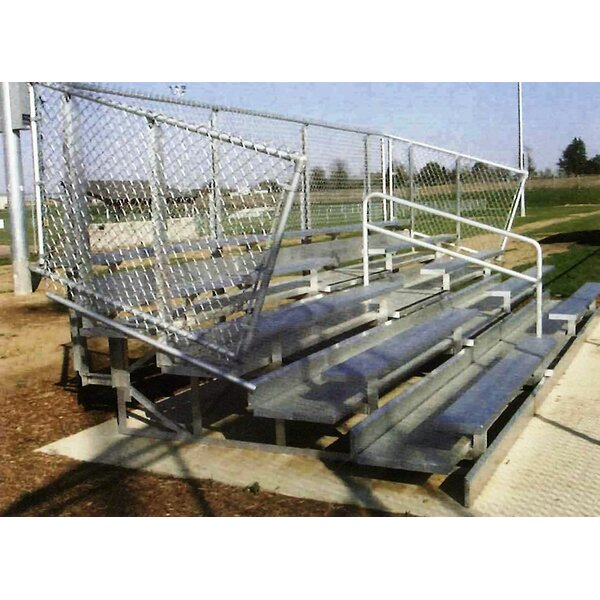 Aluminum Bleachers by Kidstuff Playsystems, Inc.