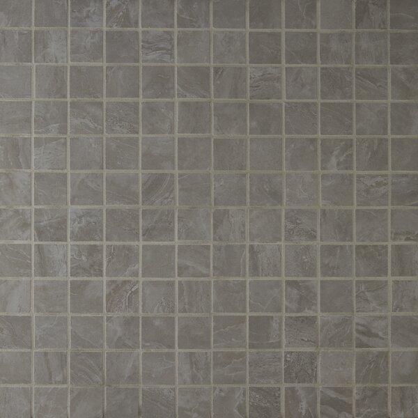 Pietra Pearl 2 x 2 Porcelain Mosaic Tile in High Gloss