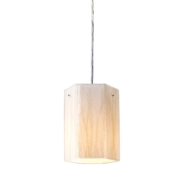 Panama City 1-Light Cylinder Pendant by Bay Isle Home