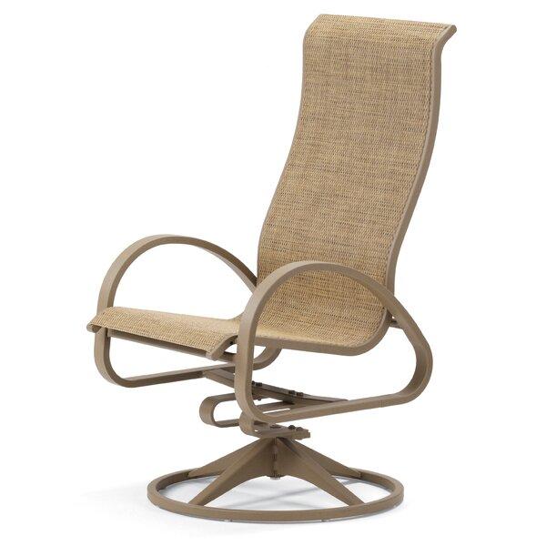 Aruba II Swivel Patio Dining Chair (Set of 2) by Telescope Casual