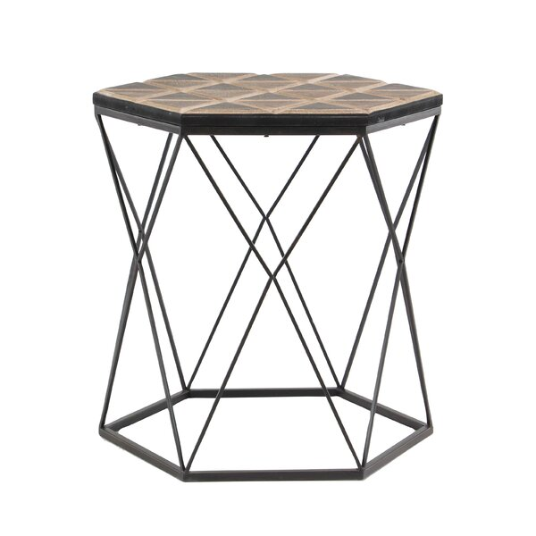 Bussey Modern End Table by Ivy Bronx
