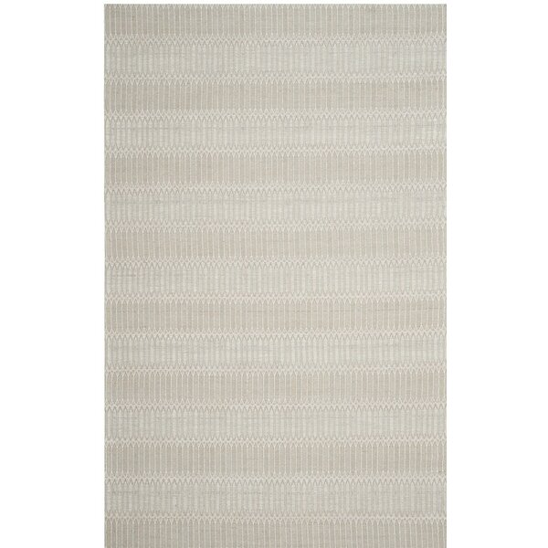 Alexandria Hand-Woven Beige Area Rug by Langley Street