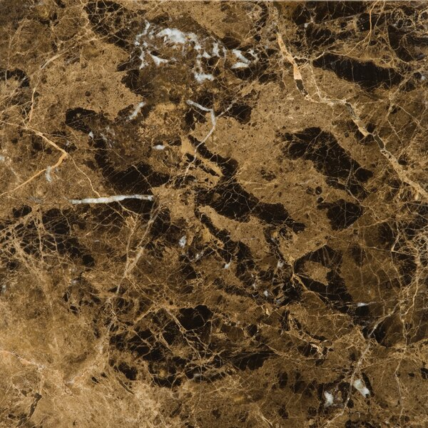 Marble 12 x 12 Field Tile in Marrone Emperador Dark by Emser Tile