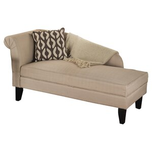Tansie Upholstered Storage Chaise  sc 1 st  Joss u0026 Main : one arm chaise sofa - Sectionals, Sofas & Couches