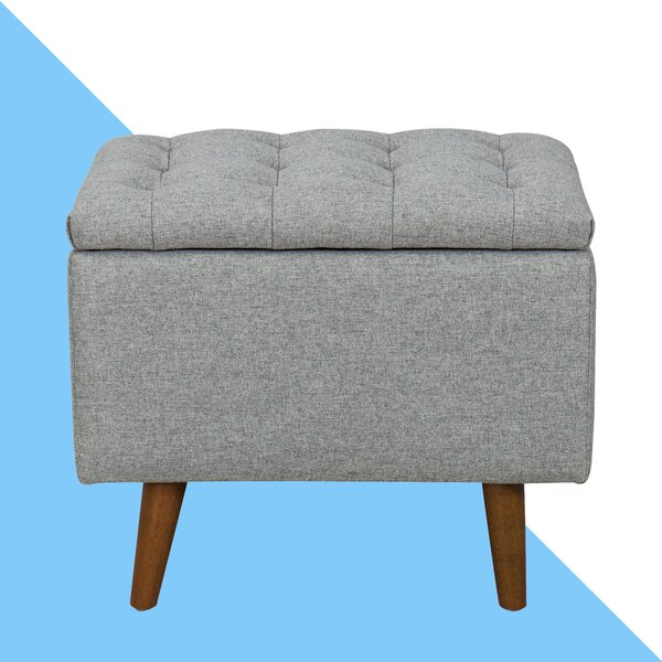 Coddington Tufted Storage Ottoman by Hashtag Home