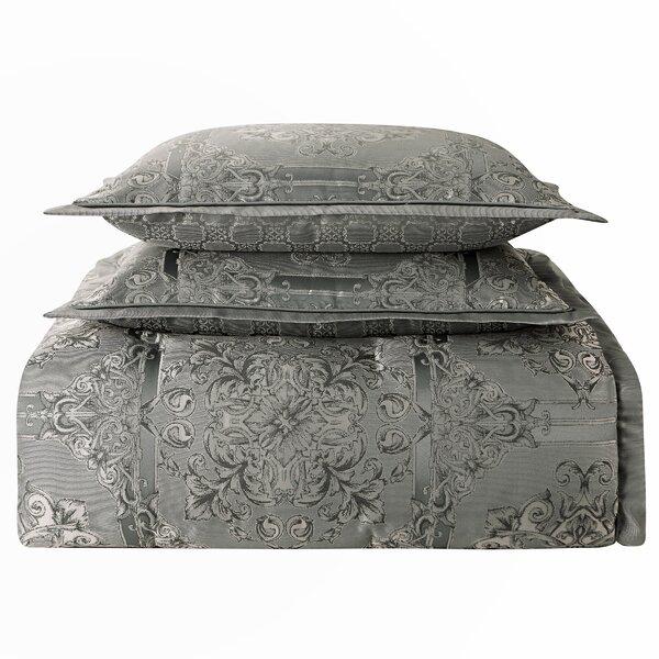 Dimitrios Reversible Comforter Set by Waterford Bedding