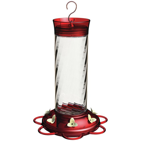Diamond Glass Hummingbird Feeder by Classic Brands LLC