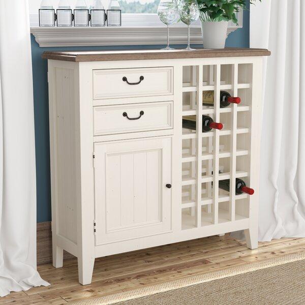 Lightfoot Wine Cabinet by Laurel Foundry Modern Farmhouse