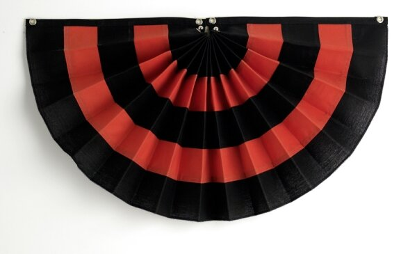 5 Stripe Pleated Flag by Independence Bunting and