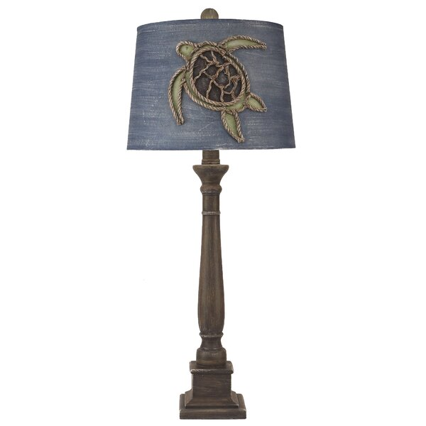Sutton Square Candlestick Pot 33 Table Lamp by Bay Isle Home