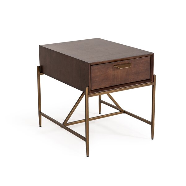 Palmona End Table with Storage by Wrought Studio Wrought Studio