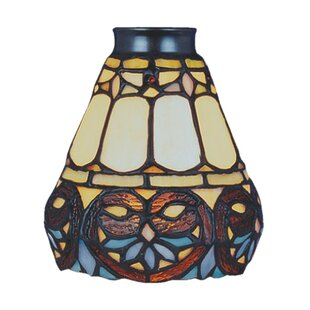 Ceiling fan fitter shades youll love wayfair antoinette 525 glass bowl ceiling fan fitter shade aloadofball Image collections