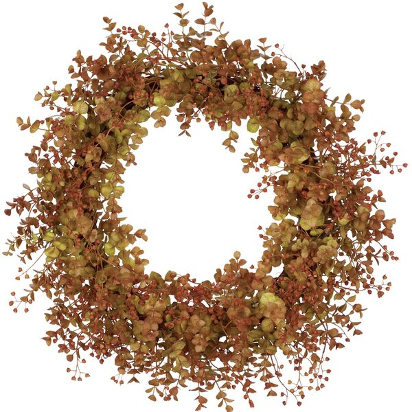 Eucalyptus 20 Wreath by Alcott Hill