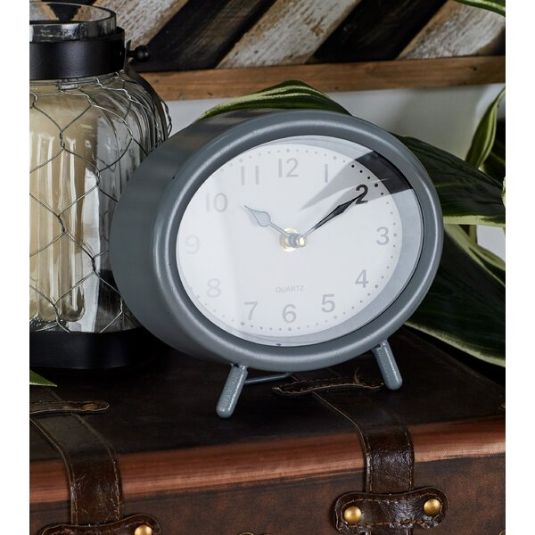Metal Table Clock (Set of 3) by Cole & Grey