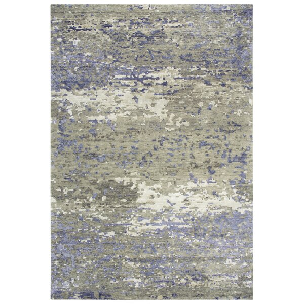 Caceres Hand Knotted Wool Brown/Beige Rug
