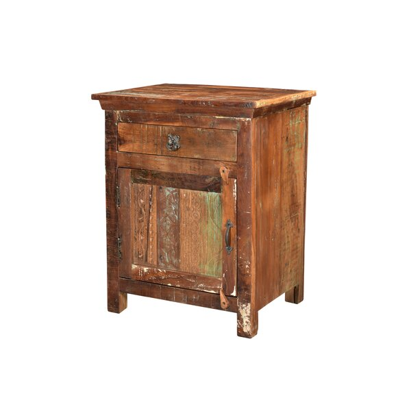 Wyandotte 1 Drawer Nightstand by Bloomsbury Market