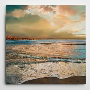 Premium 'Nuance' by Mike Calascibetta Painting Print on Wrapped Canvas by Wexford Home
