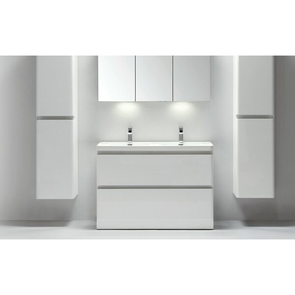 Blaire 48 Double Bathroom Vanity Set by Orren Ellis