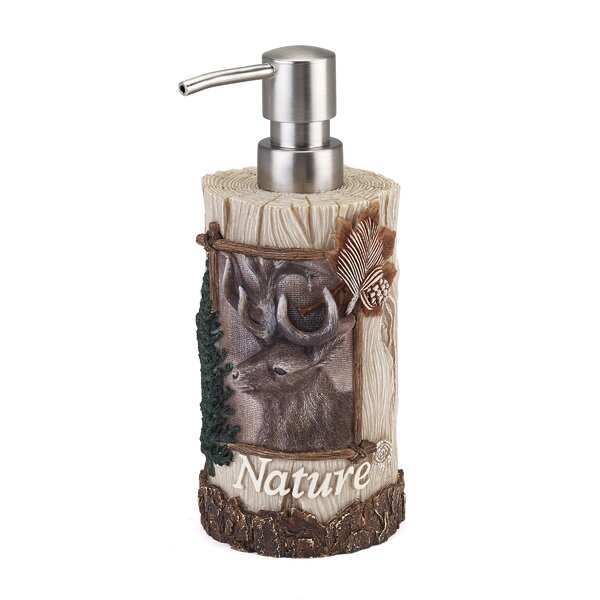 Haileyville Nature Soap Dispenser by Loon Peak