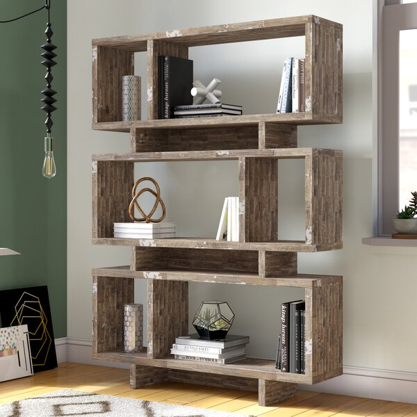 Weon Geometric Bookcase By Brayden Studio