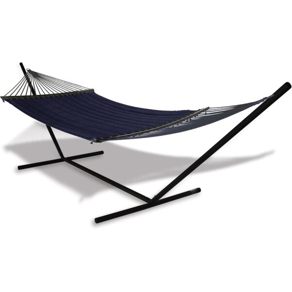 Spicer Olefin Hammock with Stand by Breakwater Bay