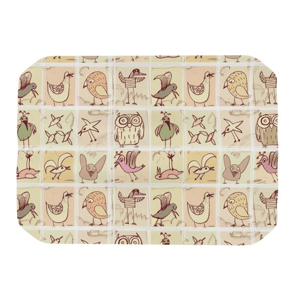 Birdies Placemat by KESS InHouse