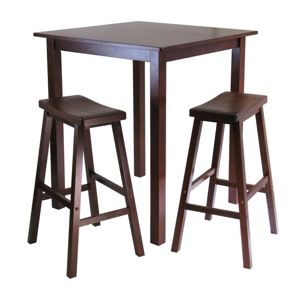 Auburn Road 3 Piece Pub Table Set by Red Barrel Studio