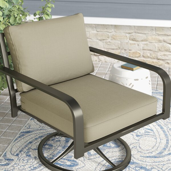 Double Piped Lounge Chair Cushion by Darby Home Co
