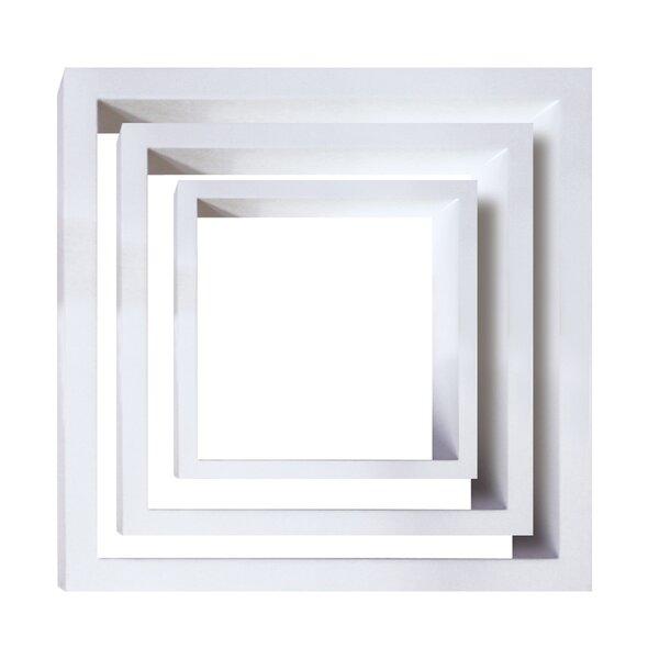 Debbra 3 Piece Wall Shelf Set by Wrought Studio