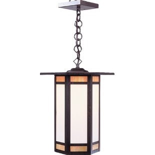 Top Reviews Etoile 1-Light Outdoor Pendant By Arroyo Craftsman