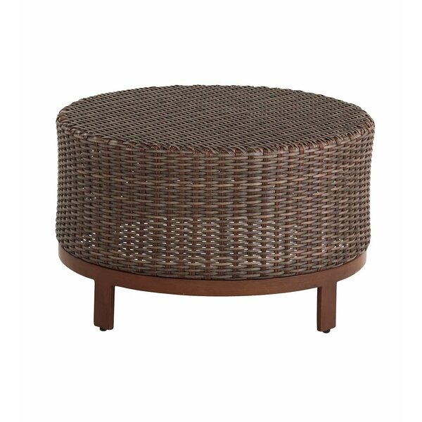 Tangier Wicker/Rattan Coffee Table by Plow & Hearth