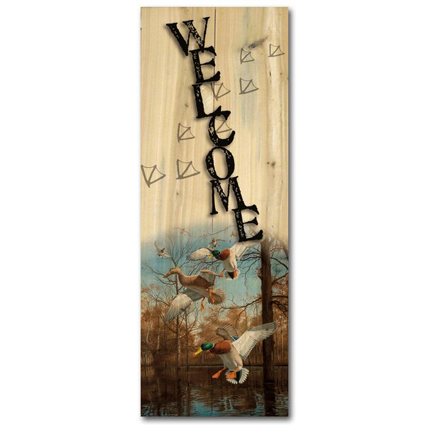 Welcome Greenhead Haven Graphic Art Plaque by WGI-GALLERY