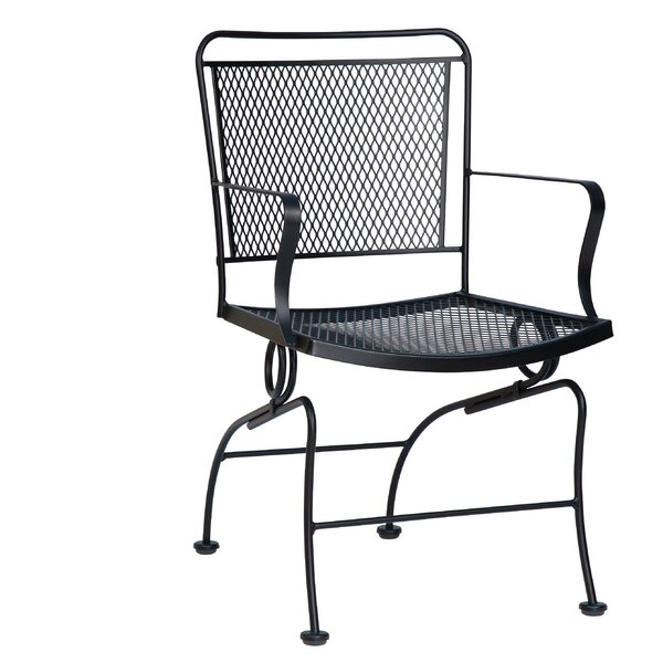 Constantine Coil Spring Patio Dining Chair by Woodard
