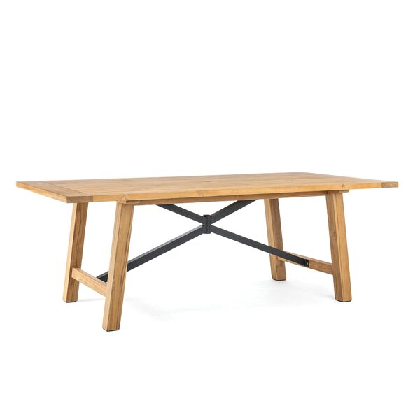 Truss Teak Dining Table by Winston