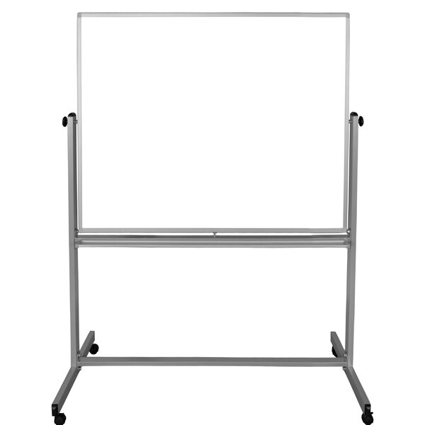 Double-Sided Magnetic Whiteboard, 71.25 x 54.7 by Luxor