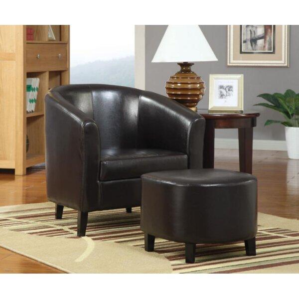 Chaunte Barrel Chair by Red Barrel Studio