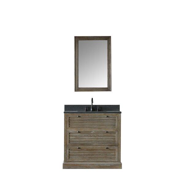 Emilio 37 Single Bathroom Vanity Set with Mirror