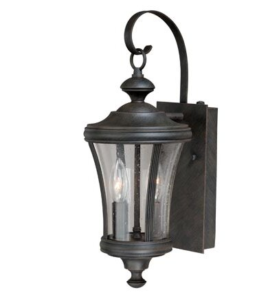 Volkman 2-Light Outdoor Wall Lantern by Darby Home Co