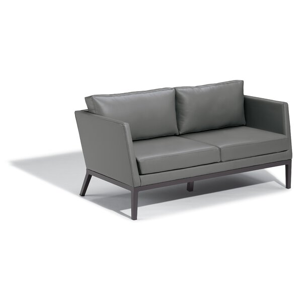 Mandeville Patio Sofa with Cushions by Beachcrest Home