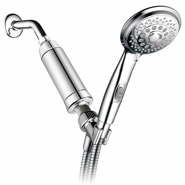 Patented On/Off Pause Switch Multi Function Handheld Shower Head By HotelSpa