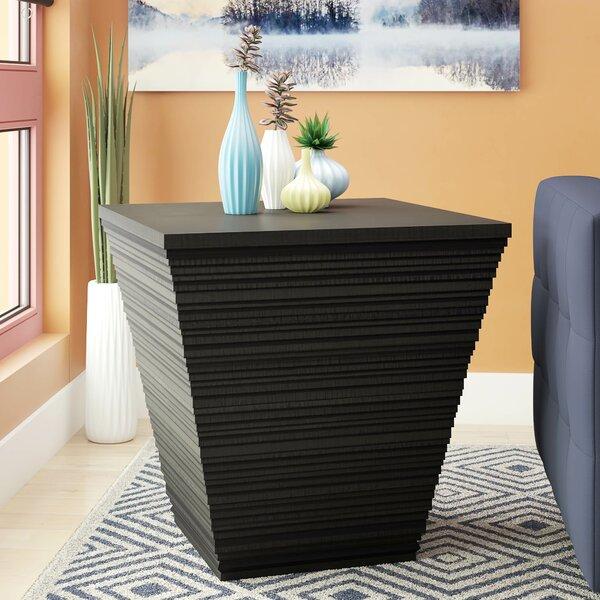 Burbach End Table by Brayden Studio
