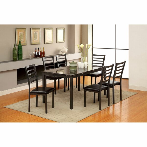 Isham 7 Piece Dining Set by Winston Porter