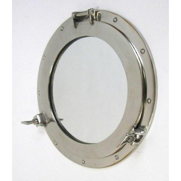 Porthole Mirror Long Lasting Wall Decor by Woodland Imports