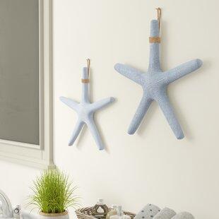 2 Piece Starfish Wall Décor Set